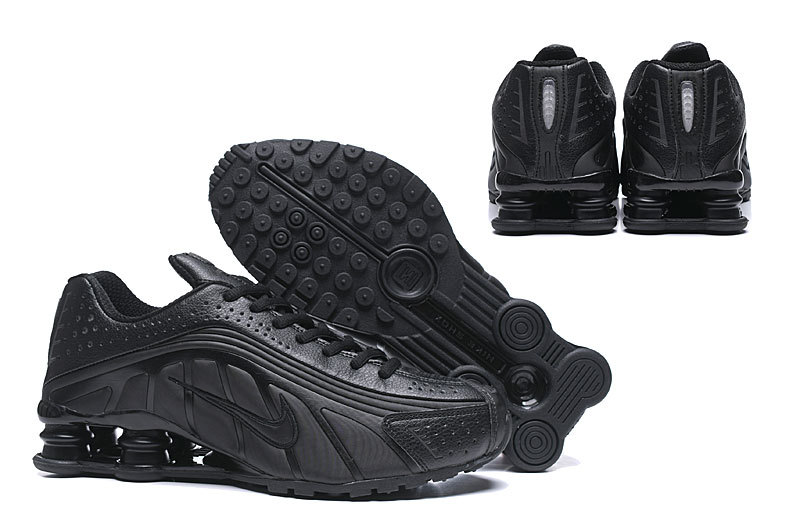 reputable site 942e1 cde2c Nike Shox R4 Men,nike shox r4 mens running shoes all black
