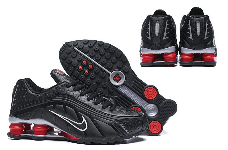 big sale d1bd8 d6c34 Nike Shox R4 Men,nike shox r4 mens running shoes black white red