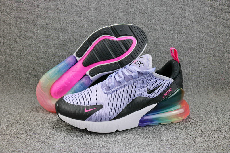 nike women air max 270 low top sneakers arc-en-ciel Luxe ...