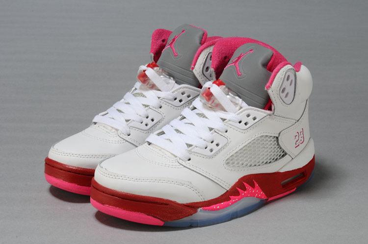 b5b0a3aea75151 czech air jordan 5 gray pink 63bae 51e21