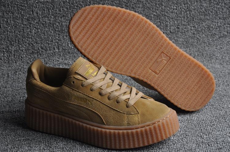 pretty nice 7da65 fc8ab puma chaussures leather size 36-44 wheat gum