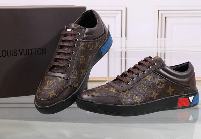 shoes louis vuitton tennis style france flower Luxe vedette PARIS ... e399d492e71
