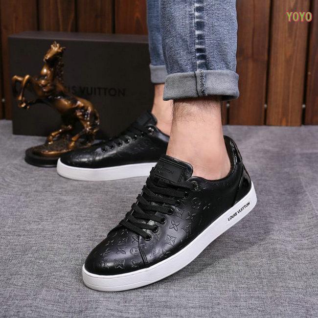 4c5a3109ebc1 shoes louis vuitton tennis style gaufrage Luxe vedette PARIS style ...