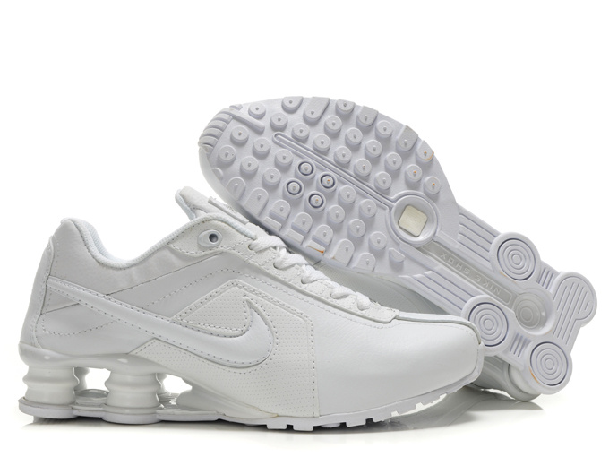 competitive price 98dbf 0a9b5 chaussures hommes nike shox r4 pas cher 2013 nl leather all white Luxe  vedette PARIS style www.sac-lvmarque.com