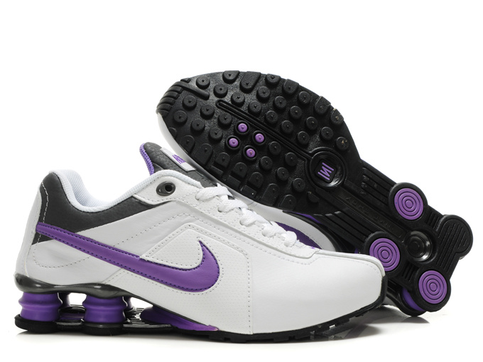 new style 5f183 863cc chaussures hommes nike shox r4 pas cher 2013 nl leather white purple Luxe  vedette PARIS style www.sac-lvmarque.com