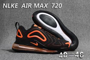 nike air max 720 soldes big air i white black Luxe vedette ...