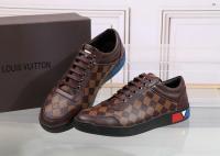 27abb8daeac13a 61.00EUR, louis vuitton Homme Chaussures,chaussures louis vuitton tennis  style damier coffe