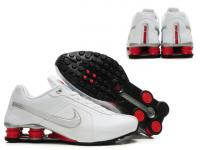 release date 37d4a 65160 54.00EUR, zapatos Hombre nike shox r4 pas cher 2013 nl leather white red
