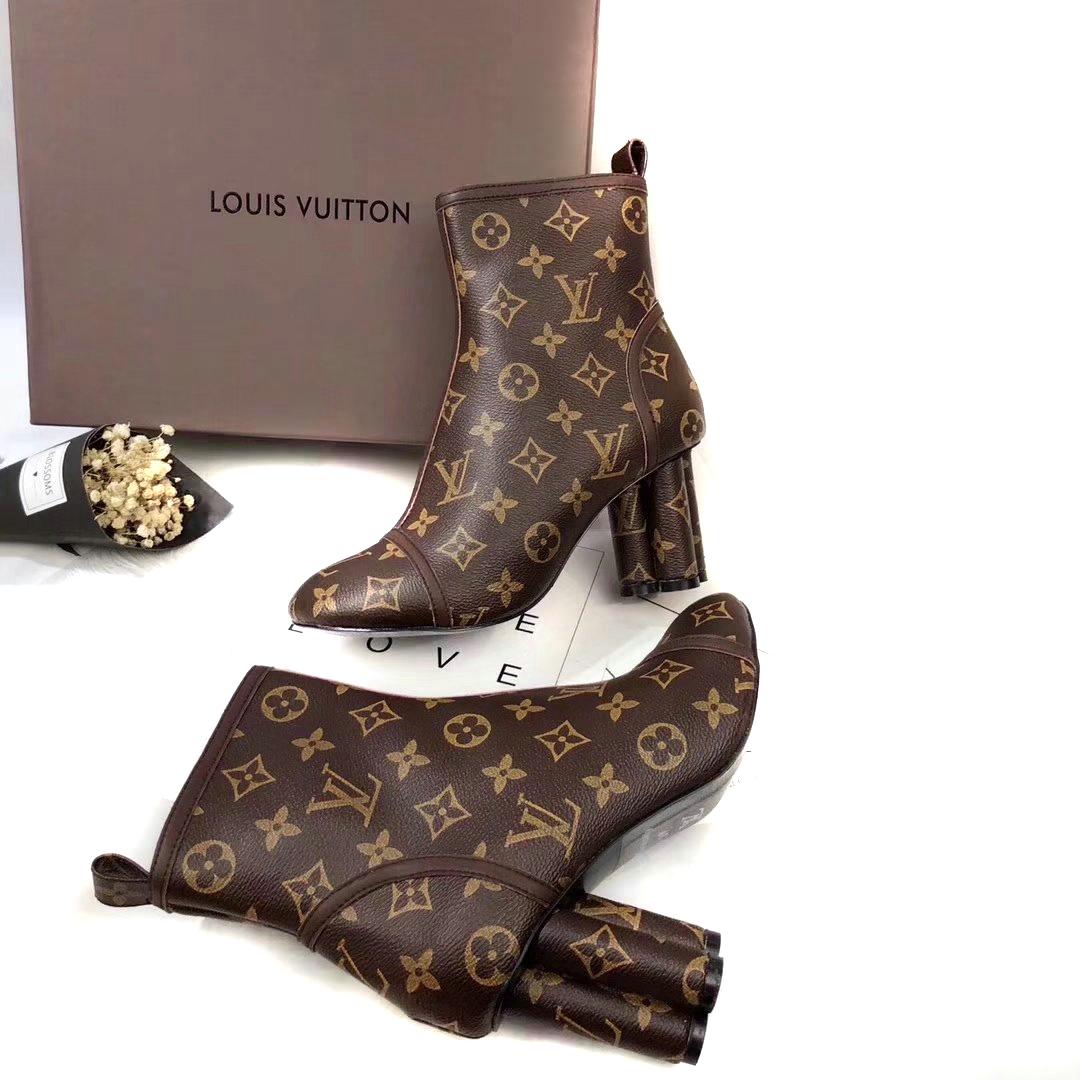 sneakers run away louis vuitton femmes classic flower bottes 349e21f6ac9