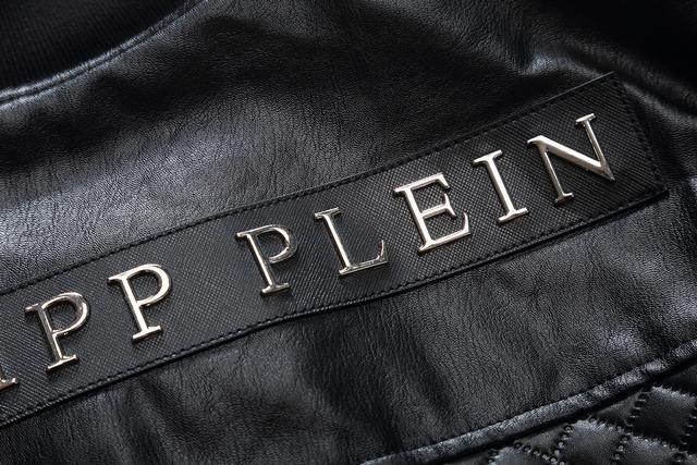 4c4a414ff92d veste philipp plein lacrim lamb skin black Luxe vedette PARIS style www .sac-lvmarque.com